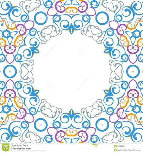 formality circular devices  border frames royalty