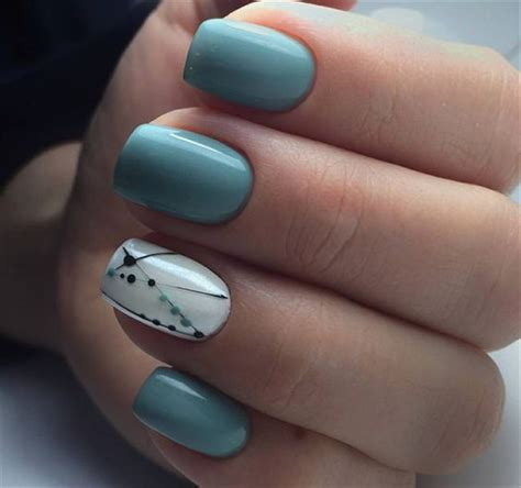 fascinating square acrylic nails  spring summer