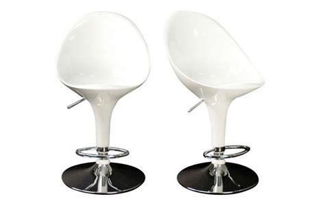 tabourets de cuisine design tabouret de bar cuisine blanc design oeuf tabouret de
