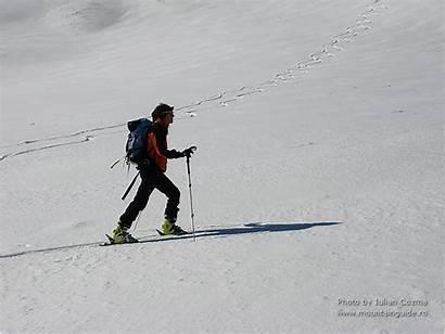 Skiing Bucegi Mountains Powder Valleys Schoch Monika