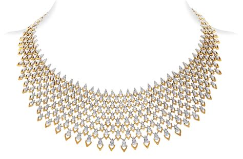 Diamond necklace costume jewelry