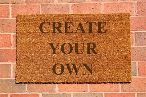 1000+ Ideas About Custom Door Mats On Pinterest