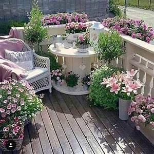 Dekorieren Im Shabby Look : decorare il giardino in stile shabby chic 20 idee per ispirarvi ~ Markanthonyermac.com Haus und Dekorationen