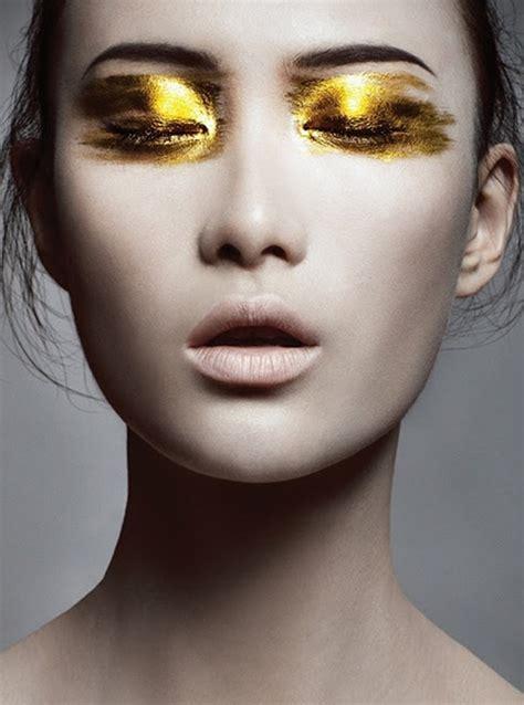 top  super trendy gold eyes makeup ideas   pretty designs