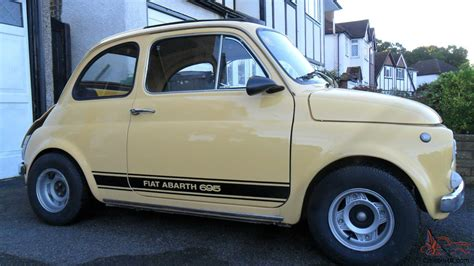 old fiat 1972 classic fiat 500 abarth replica 695