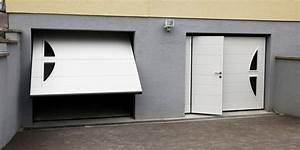 Porte De Garage Avec Portillon : porte de garage basculante ~ Melissatoandfro.com Idées de Décoration
