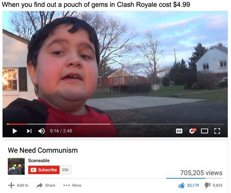 Kid Meme Memes Of The Communist Kid On The Rise Memeeconomy