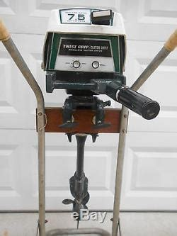 Boat Motors At Sears by Vintage Sears Ted Williams 7 5hp Solid State Ignition