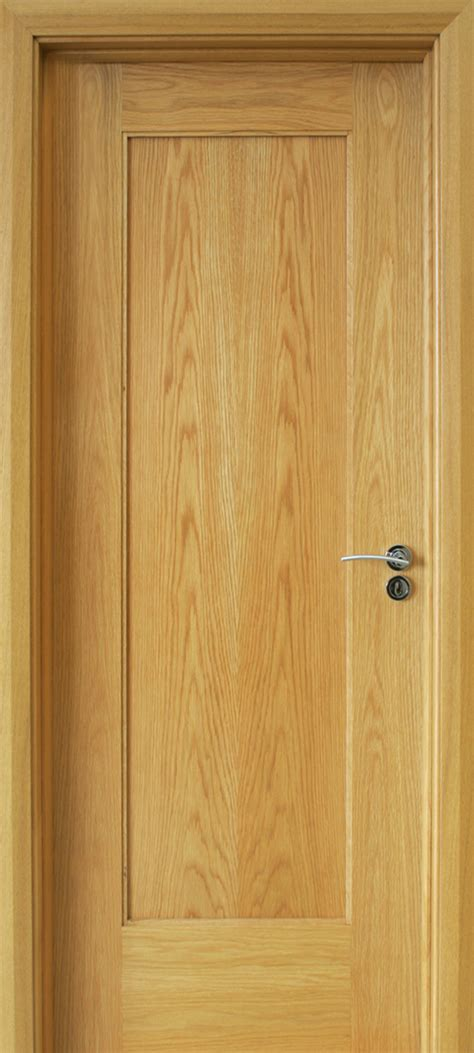 Oak Doors by Shaker 1 Panel White Oak Door 40mm Doors