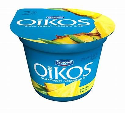 Oikos Pineapple Yogurt Greek Leche Yogur Griega