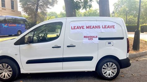 Leave means leave: Boris Johnson is still in his free ...