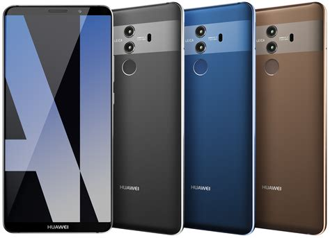 voici le huawei mate 10 pro a new challenger approaching frandroid