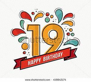 19th Birthday Stock Photos, Images, & Pictures   Shutterstock