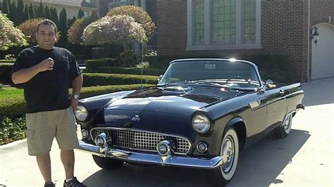 1955 ford thunderbird convertible classic muscle car for sale in mi vanguard motor sales youtube