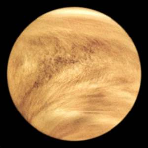Planet Venus - The Solar System on Sea and Sky