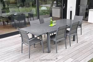 Mobilier Jardin Pas Cher : salon de jardin aluminium pas cher ekipia ~ Melissatoandfro.com Idées de Décoration