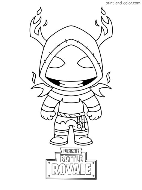 Coloring Pages For by Fortnite Coloring Pages Print And Color