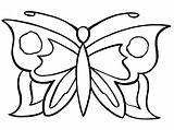 Butterfly Coloring Pages Mariposas Para Colorear Butterflies Printable Print Imprimir Simple Imagenes Easy Animales Dibujar La Alas Books sketch template
