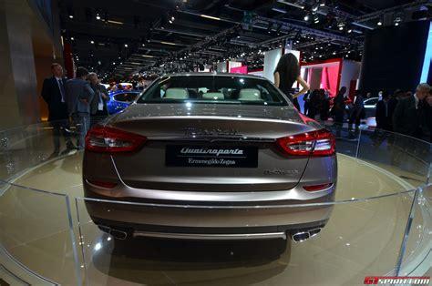Frankfurt 2018 Maserati Quattroporte Ermenegildo Zegna