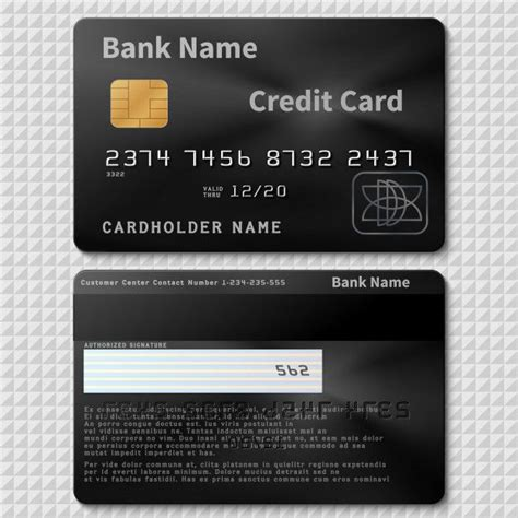 So is the case with new entries trying to grab that. Realistic Black Bank Plastic Credit Card With Chip ...