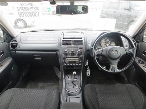 toyota altezza interior 2004 toyota altezza sxe10 rs200 z edition for sale