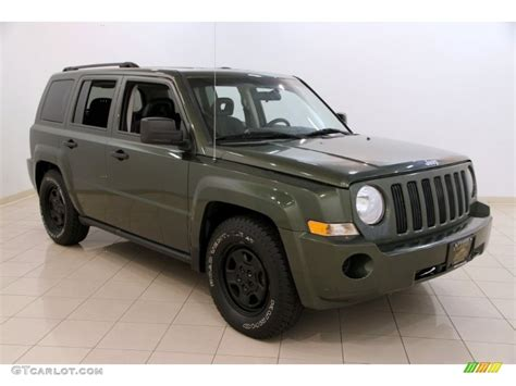 dark green jeep patriot 2008 jeep green metallic jeep patriot sport 4x4 106507892
