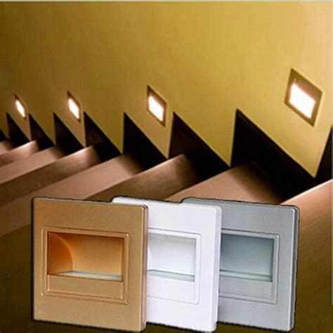 led wall lights for stairs new led wall stairs light 5730smd more brightness than ladder l led wall light golden shell