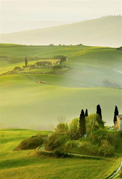 Spring Tuscany Background Iphone Wallpapers Landscape Italy