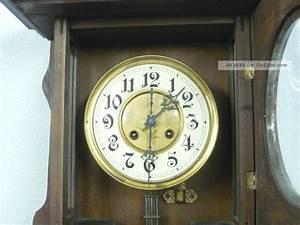 Wanduhr Mit Bildern : antike wanduhr freischwinger jugendstil um 1900 mit adler gong ~ Watch28wear.com Haus und Dekorationen