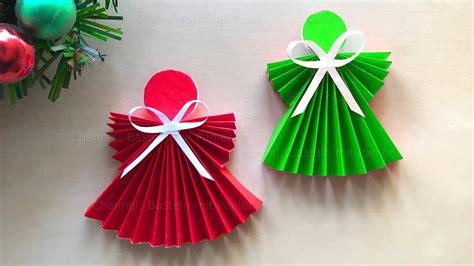 Weihnachtsdeko Selber Basteln Aus Papier by Weihnachten Basteln Weihnachtsengel Basteln Mit Papier