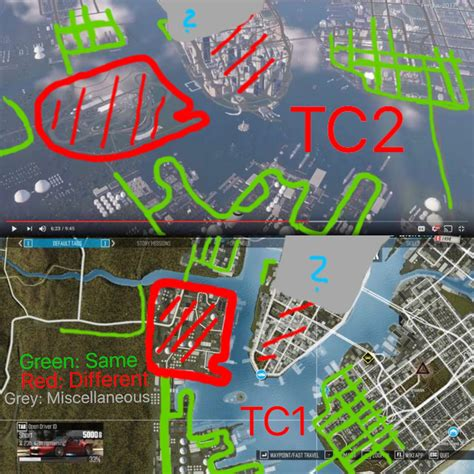 the crew 1 the crew 1 2 map comparison part 1 the crew