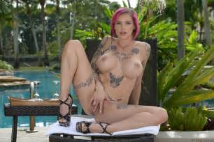 Pink Haired Milf Is Rubbing Her Pussy Photos Cory Chase