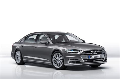 2019 Audi A8 L Front Three Quarter 02 Motor Trend