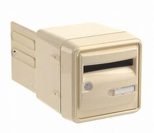 Porte Etiquette Boite Aux Lettres : boite aux lettres corail individuel 2 portes ~ Melissatoandfro.com Idées de Décoration