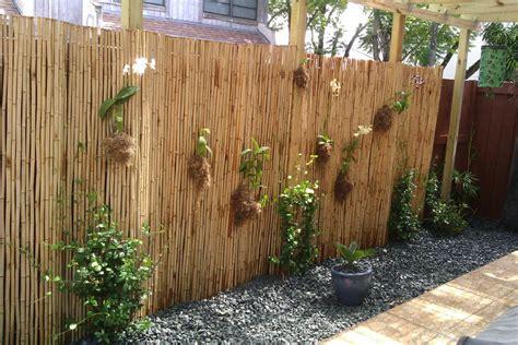 Bamboo Garden Fence Design astounding bamboo fence decorating ideas