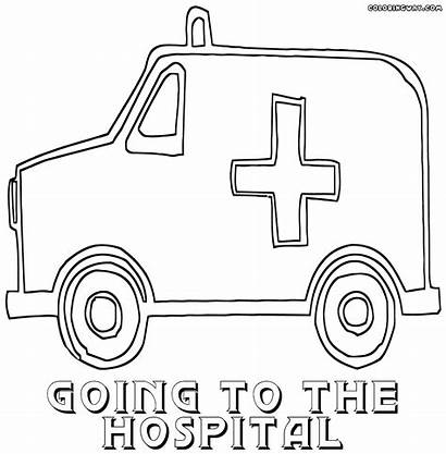 Hospital Coloring Pages Colorings Building