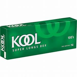 Kool Menthol 100 Box cigarettes made in USA, 5 cartons, 50 ...