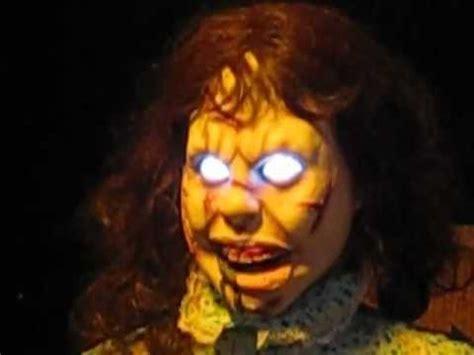 Spirit Halloween Animatronics Youtube by The Exorcist Regan Animatronic Spirit Halloween