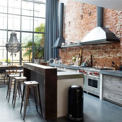 modern industrial kitchens