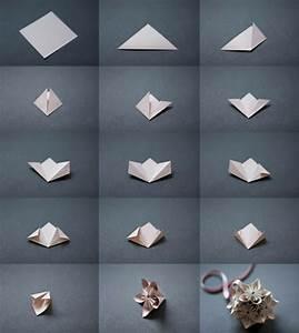 Comment Faire Des Choses En Papier : fleurs origami tuto ~ Zukunftsfamilie.com Idées de Décoration