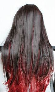 The gallery for --> Red Hair With Brown Underlayer