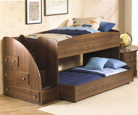 loft beds loft bed with trundle and stair energy ufo bedding