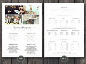 Wedding photographer pricing guide psd template v3 on behance for Wedding pricing template