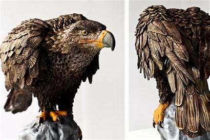 Cakes Animal Realistic Hyper Cake Eagle Turtle