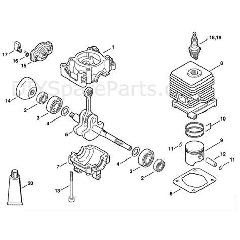 Diagram Of Stihl Tiller Engine by Stihl Mm55 Parts Diagram
