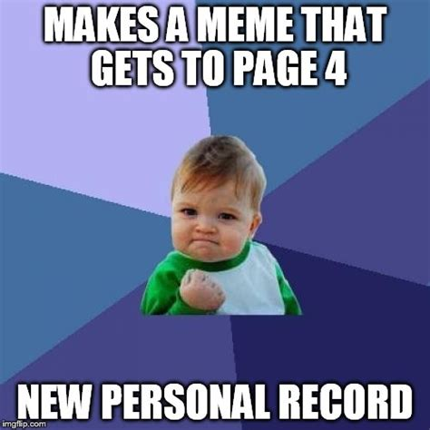 Personal Meme Generator - success kid meme imgflip