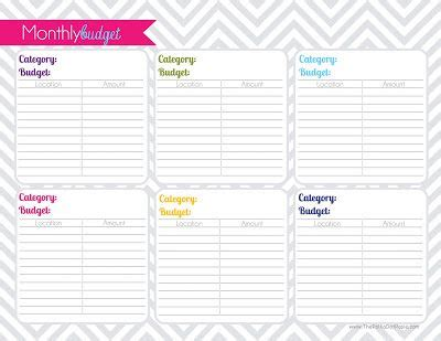 polka dot posie putting   planner