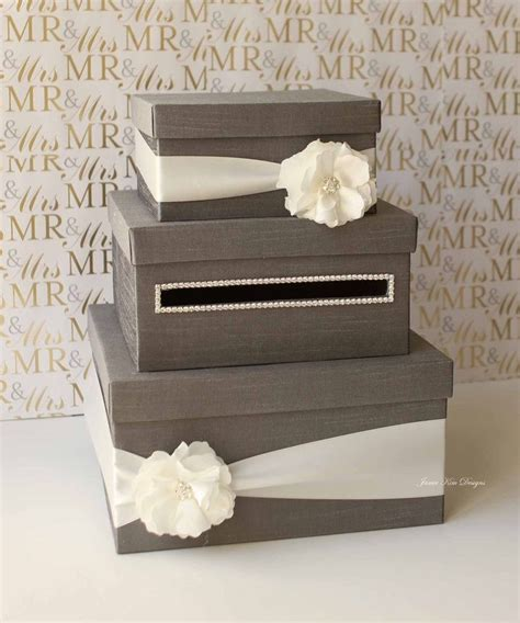 wedding card box diy love this but in gold with pink