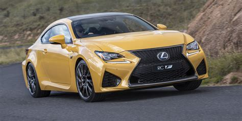 2018 lexus rc rc f pricing and specs photos