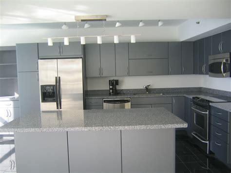 modern grey cabinets
